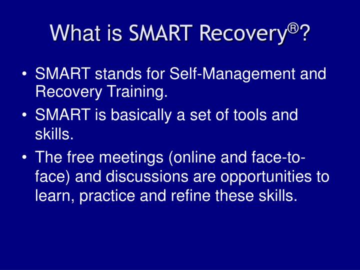 What is smart recovery