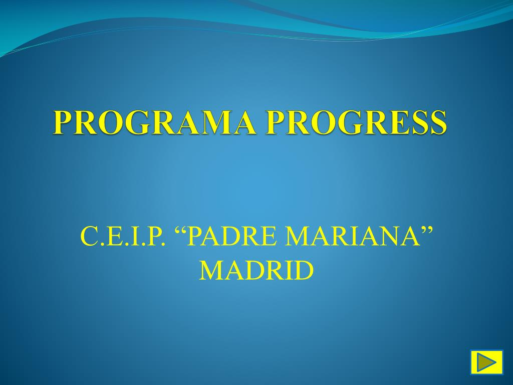 PROGRAMA PROGRESS