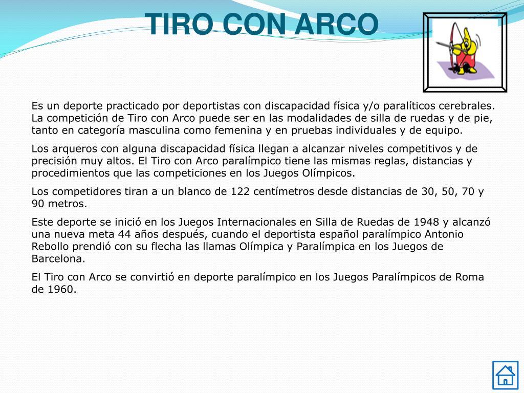 TIRO CON ARCO