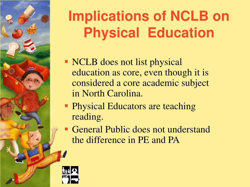 Implications of NCLB on Physical  Education
