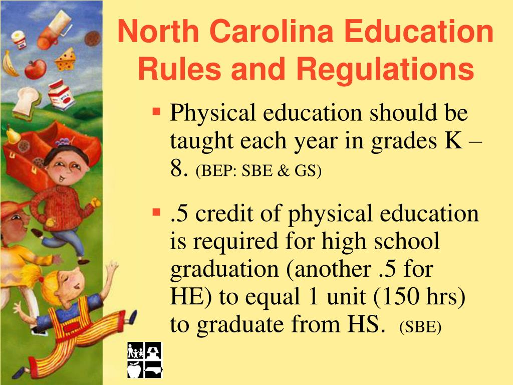 North Carolina Education Rules and Regulations