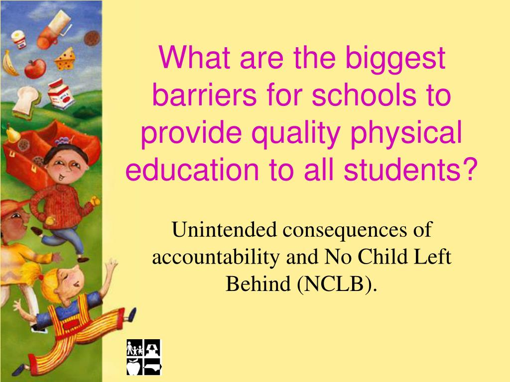What are the biggest barriers for schools to provide quality physical education to all students?