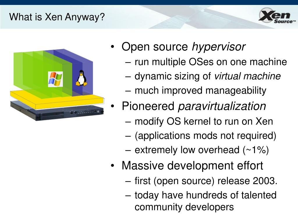 What is Xen Anyway?