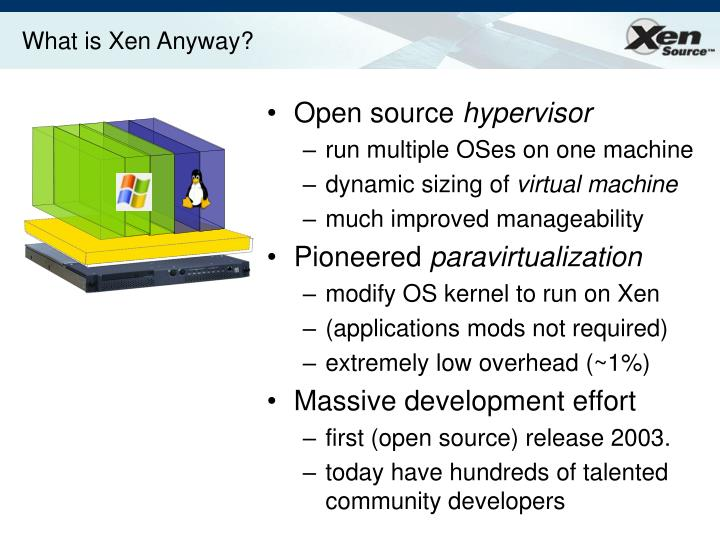 What is xen anyway