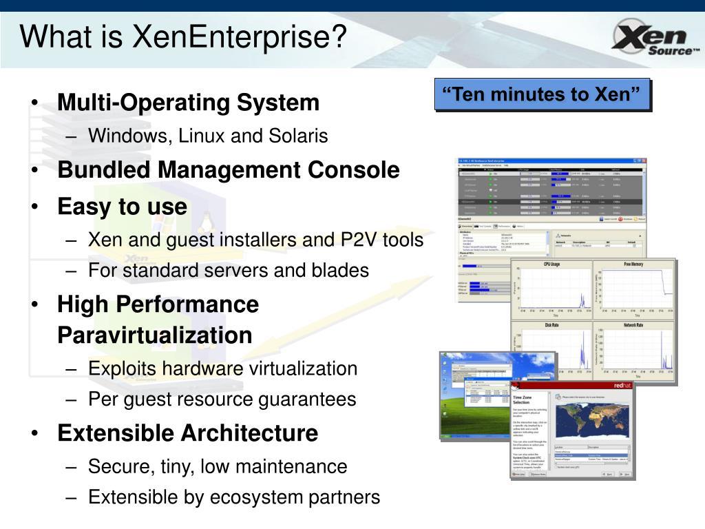 What is XenEnterprise?