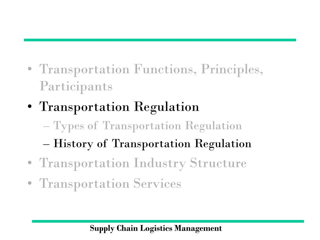 PPT - Supply Chain Logistics Management PowerPoint