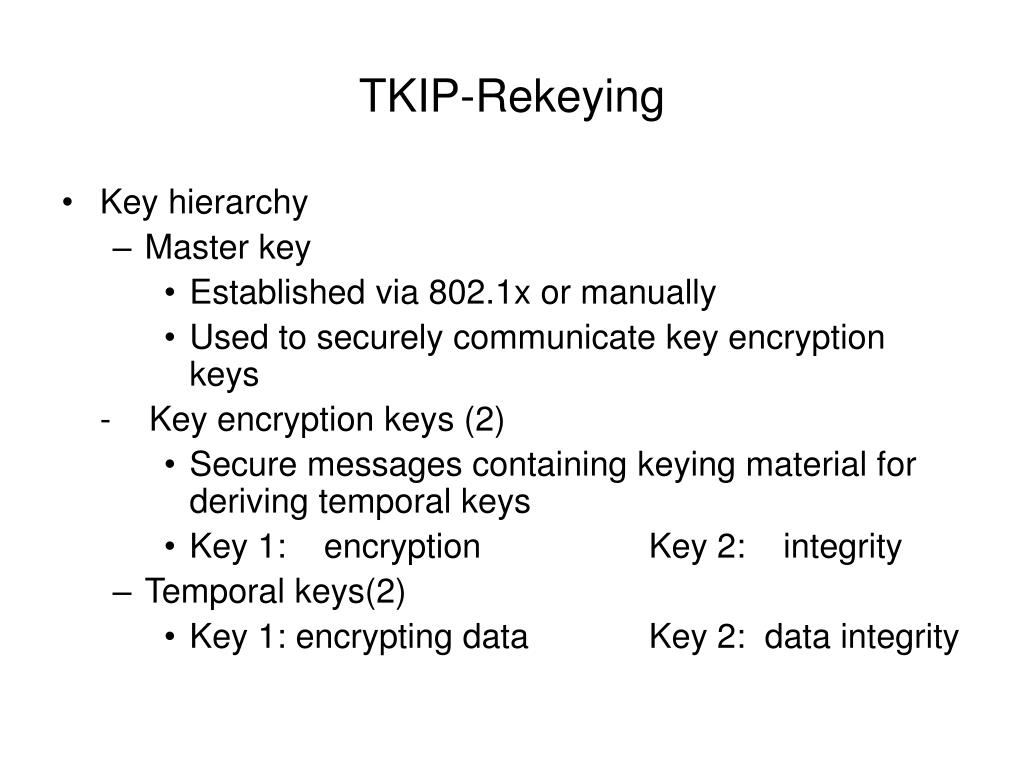 TKIP-Rekeying