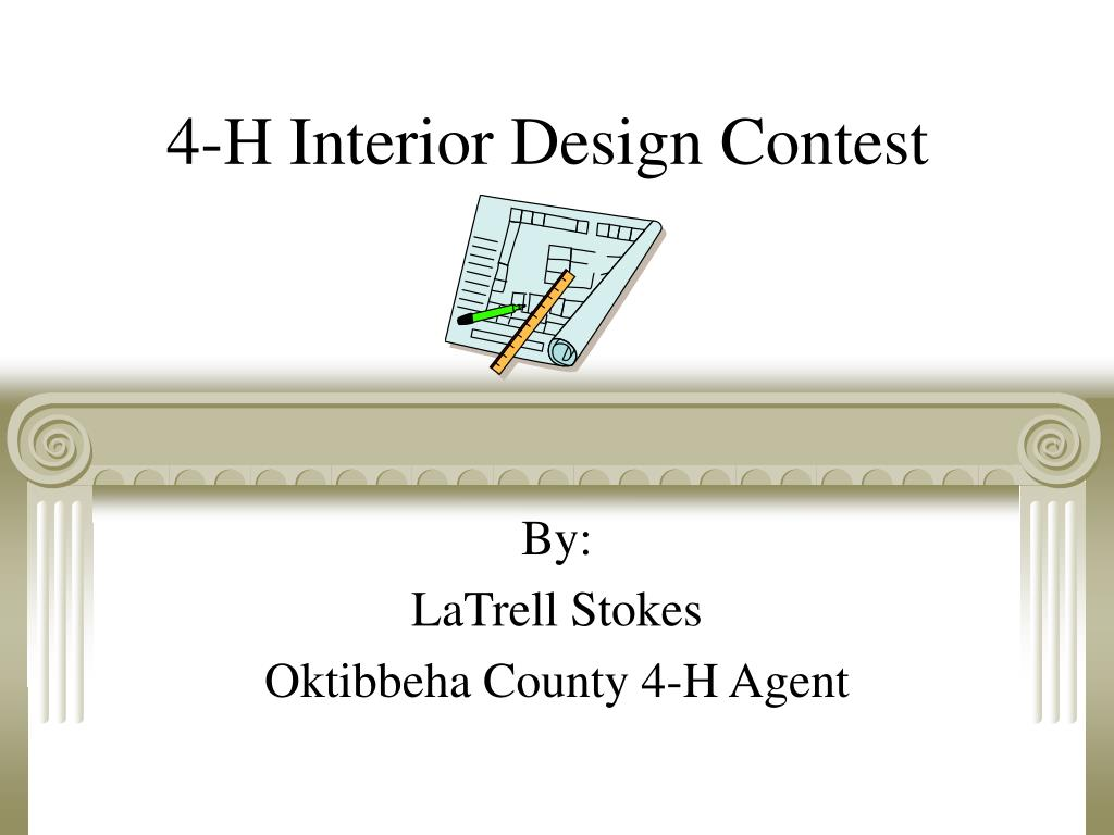 4 h interior design contest l.