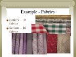 example fabrics