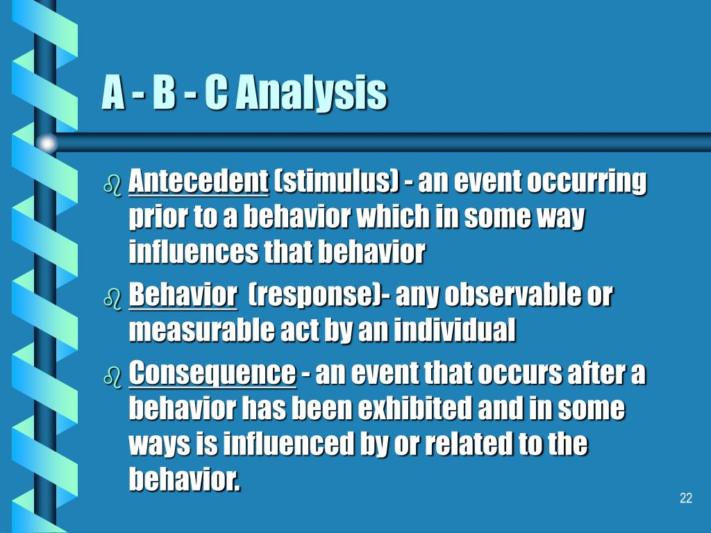 A - B - C Analysis