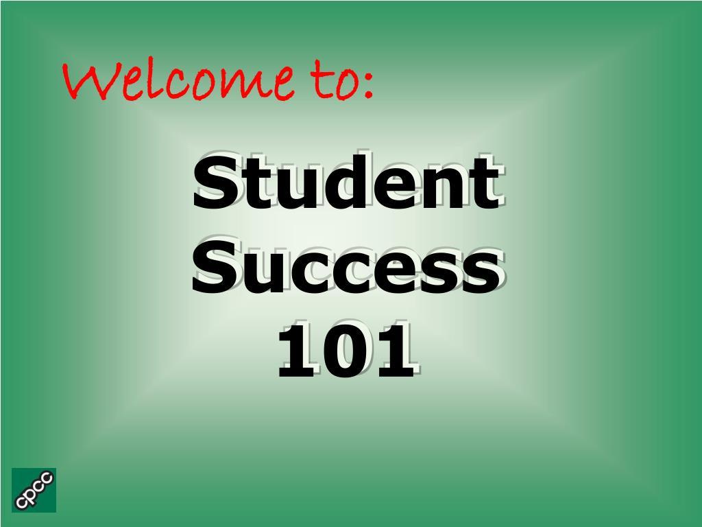 student success 101 l.