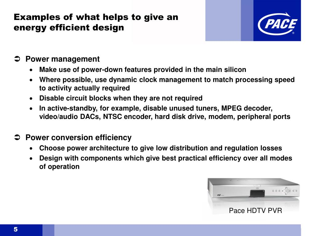 Pace HDTV PVR