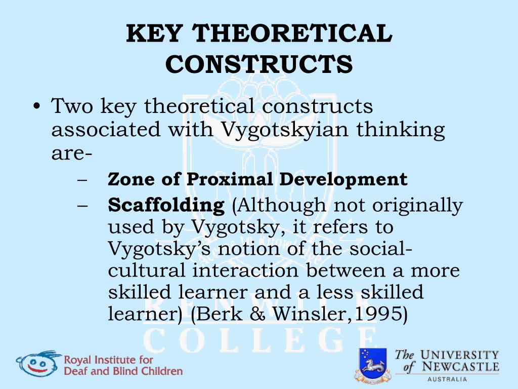 KEY THEORETICAL CONSTRUCTS