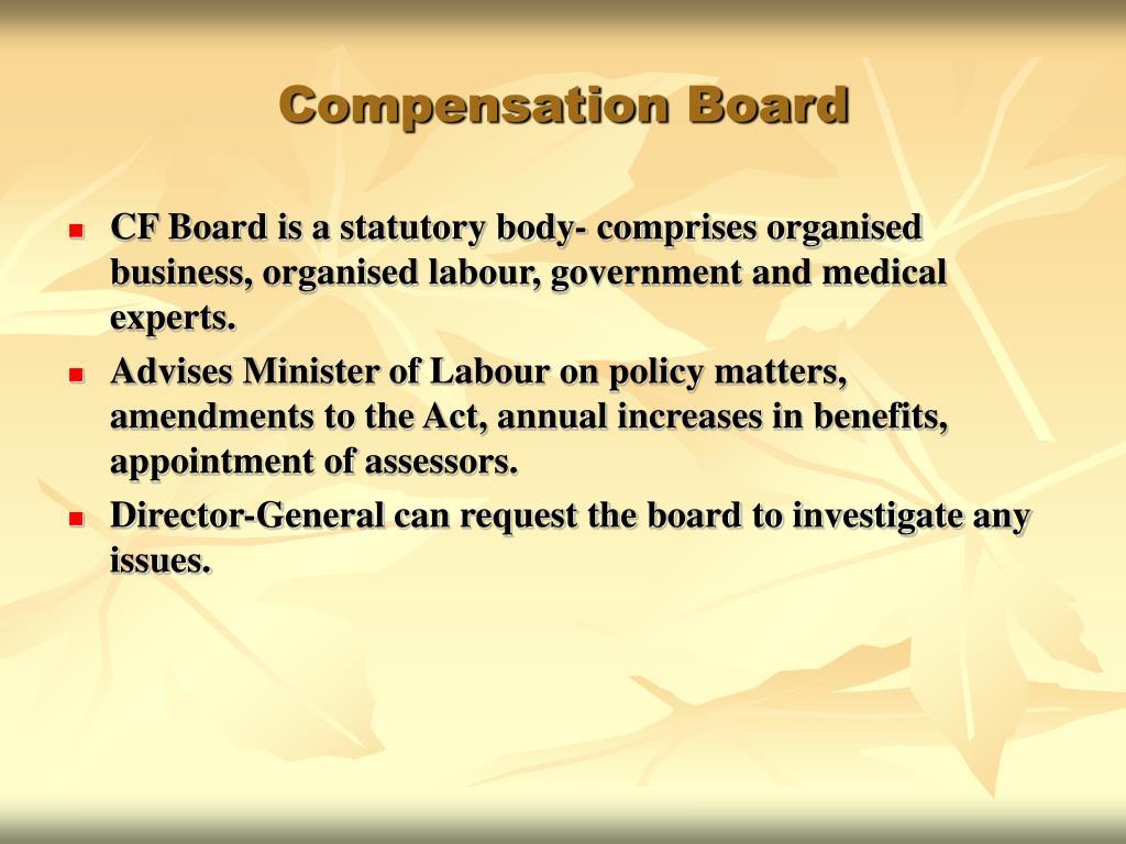 Compensation Board