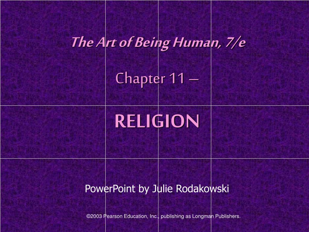The Art of Being Human, 7/e