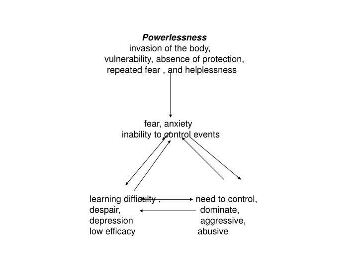 Powerlessness