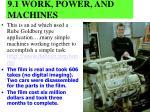 9 1 work power and machines