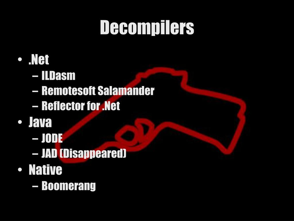 Decompilers