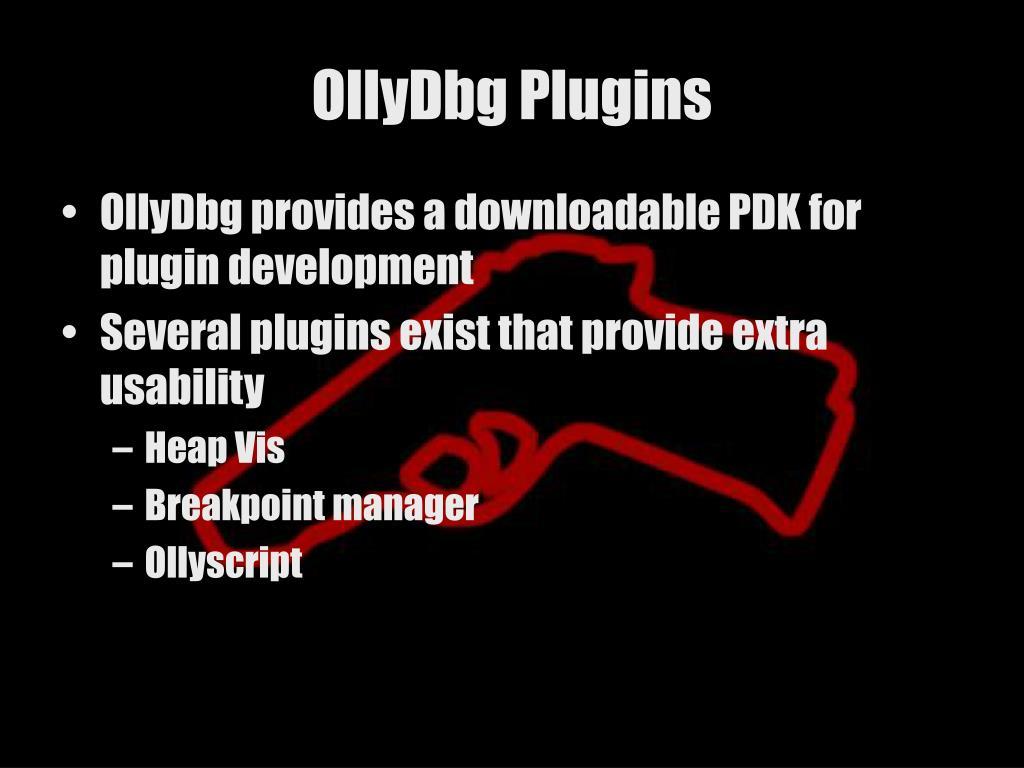 OllyDbg Plugins