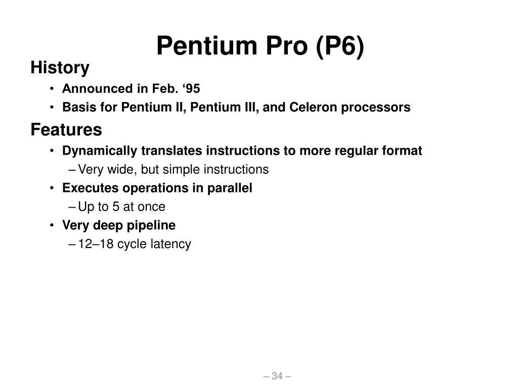 Pentium Pro (P6)