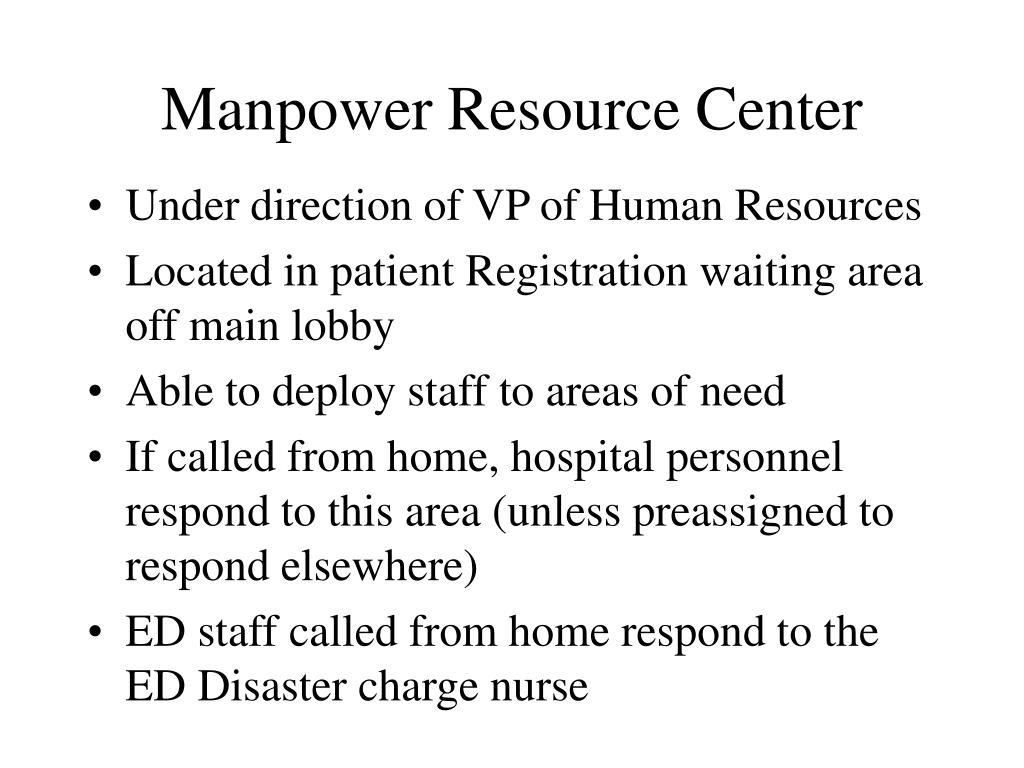 Manpower Resource Center