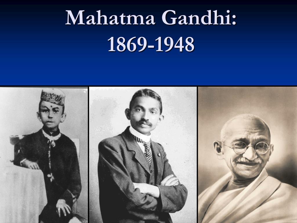 mahatma gandhi 1869 1948 l.