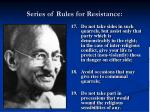 series of rules for resistance16