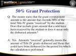 50 grant protection