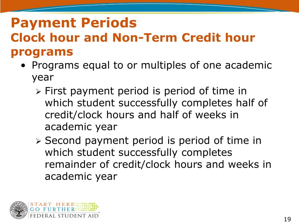 Payment Periods