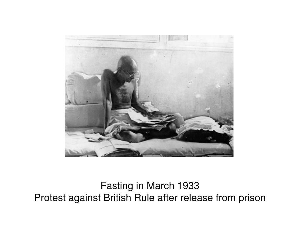 Fasting in March 1933
