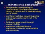 tcip historical background19