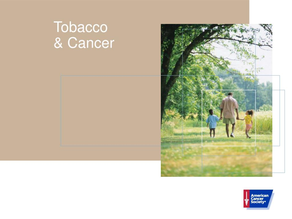 tobacco cancer