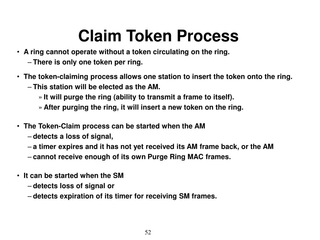 Claim Token Process