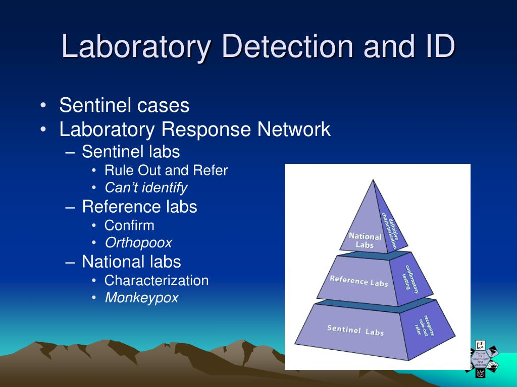 Laboratory Detection and ID