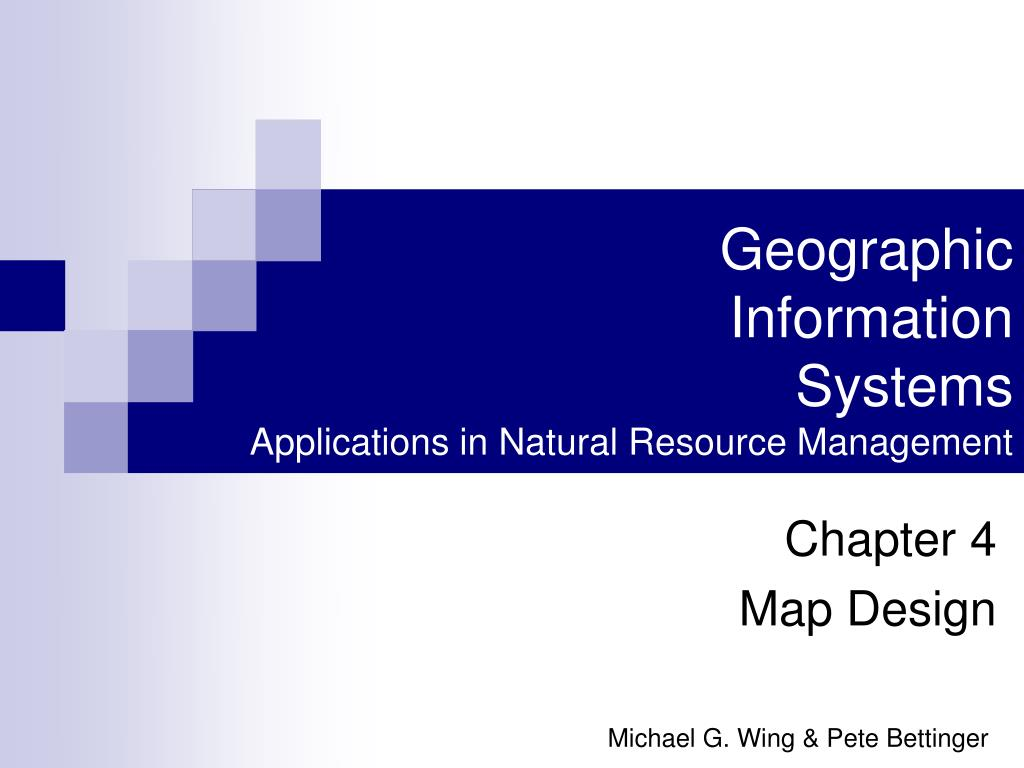 geographic information systems applications in natural resource management