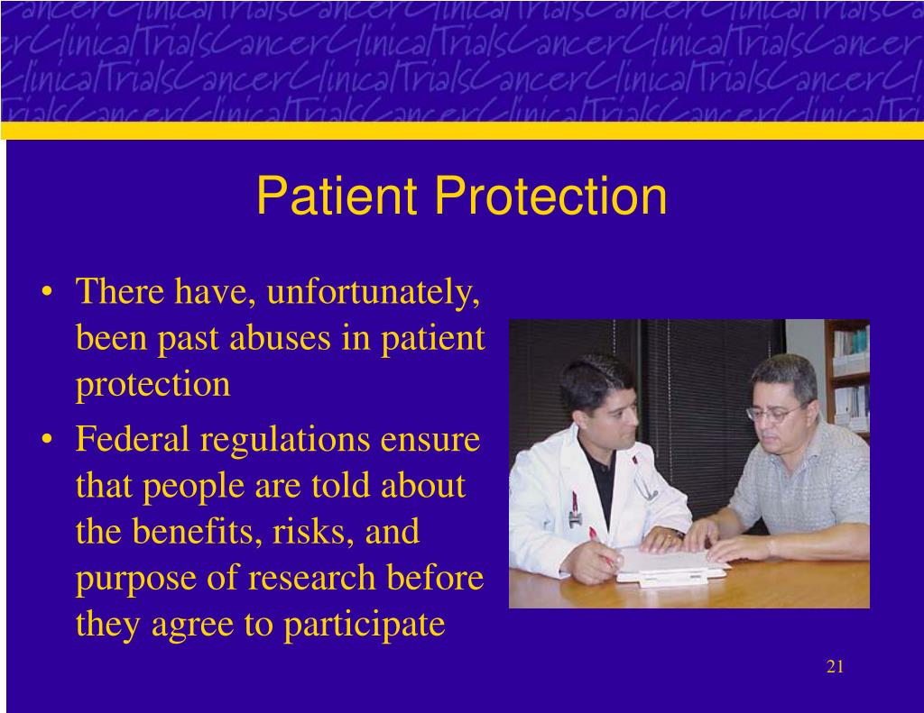 Patient Protection
