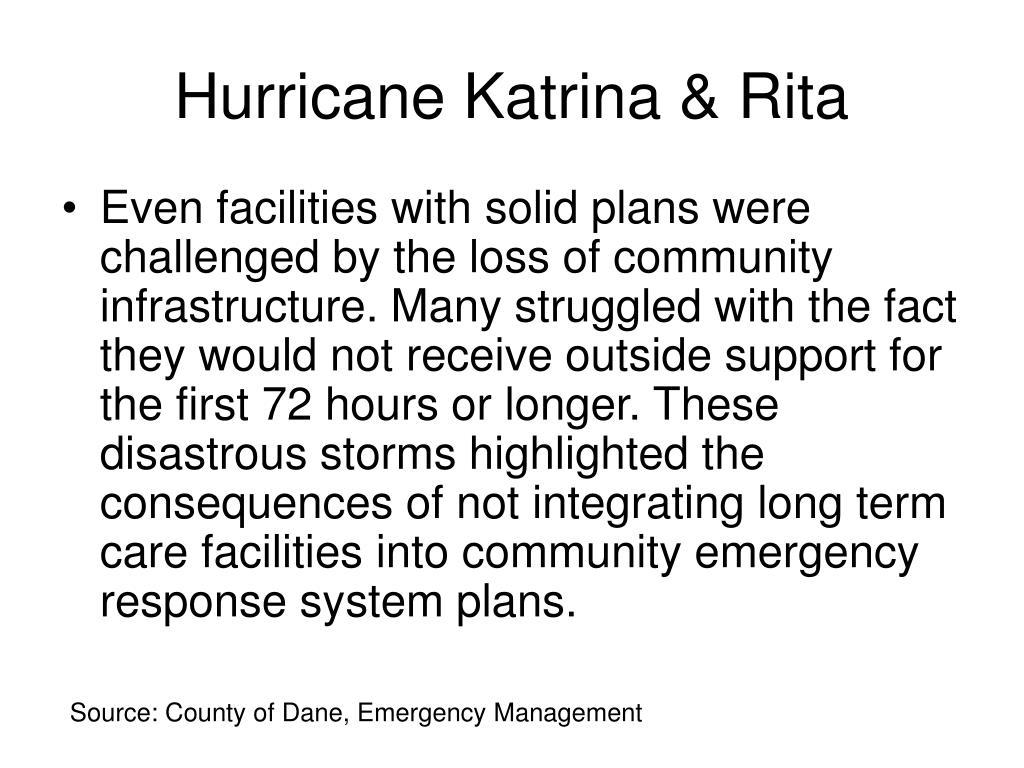 Hurricane Katrina & Rita
