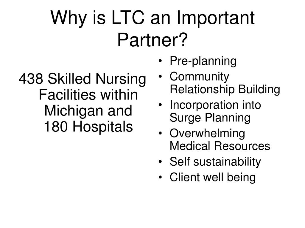 438 Skilled Nursing Facilities within Michigan and 180 Hospitals