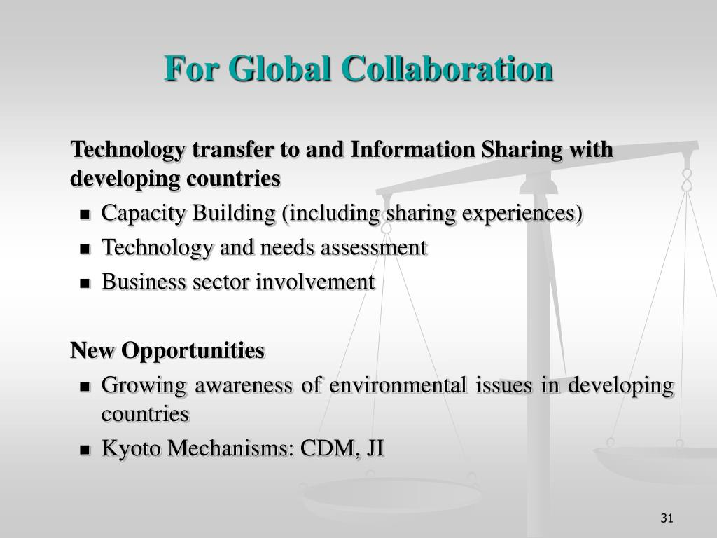 For Global Collaboration