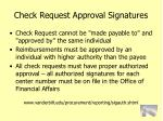 check request approval signatures82