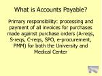 what is accounts payable