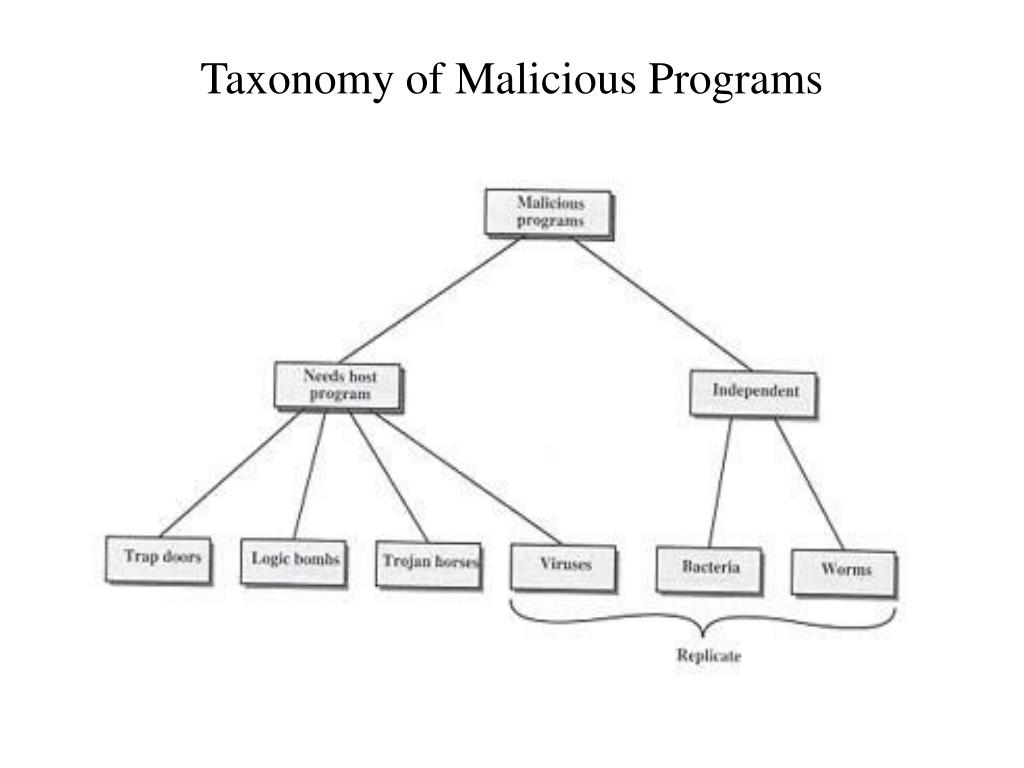 Taxonomy of Malicious Programs