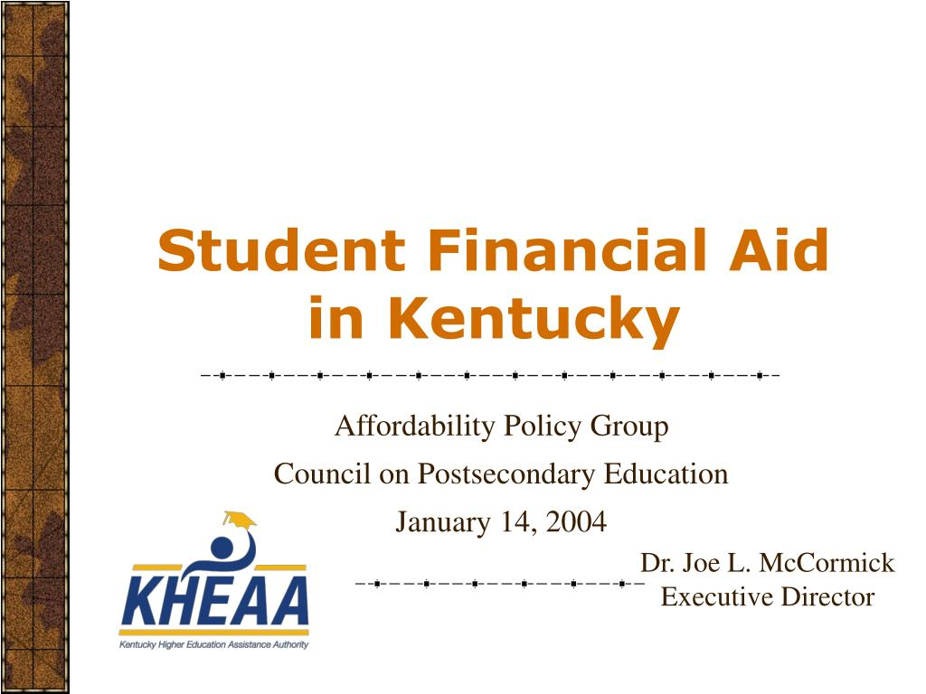 student financial aid in kentucky