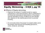 equity skimming 3 5 g pg 1536