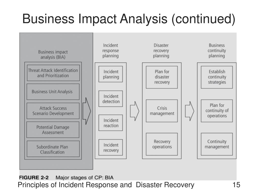 Business Impact Analysis (continued)