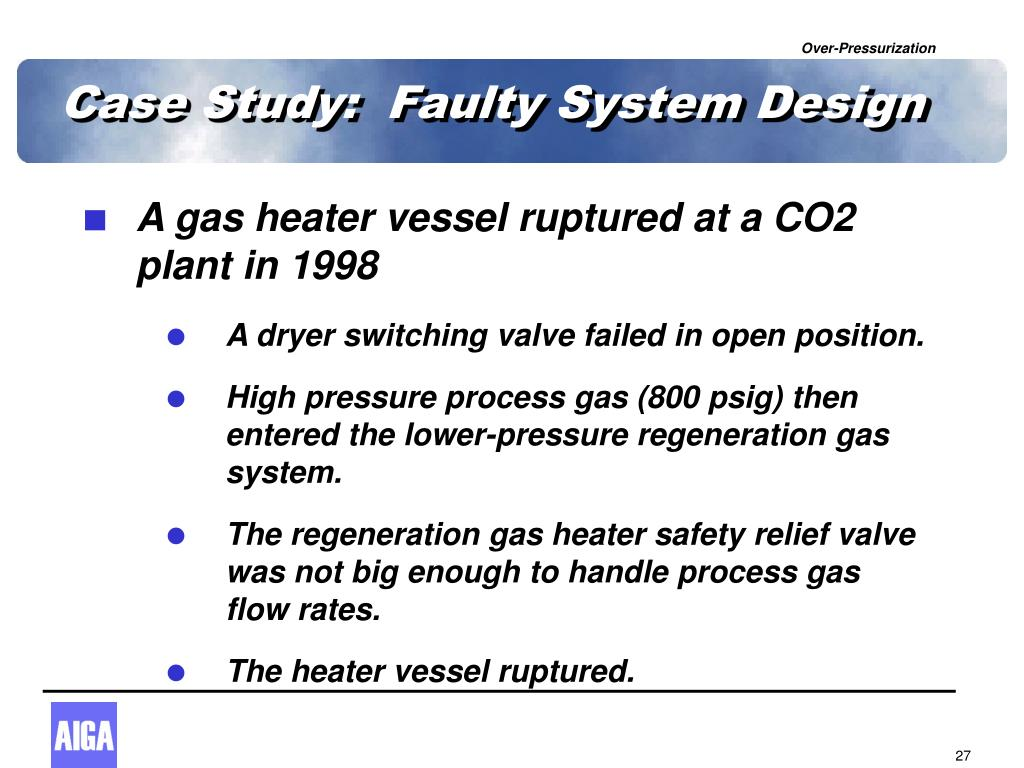 Case Study:  Faulty System Design
