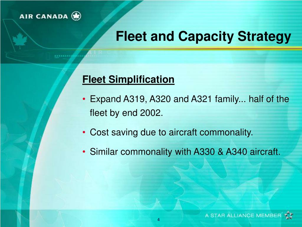 Fleet and Capacity Strategy