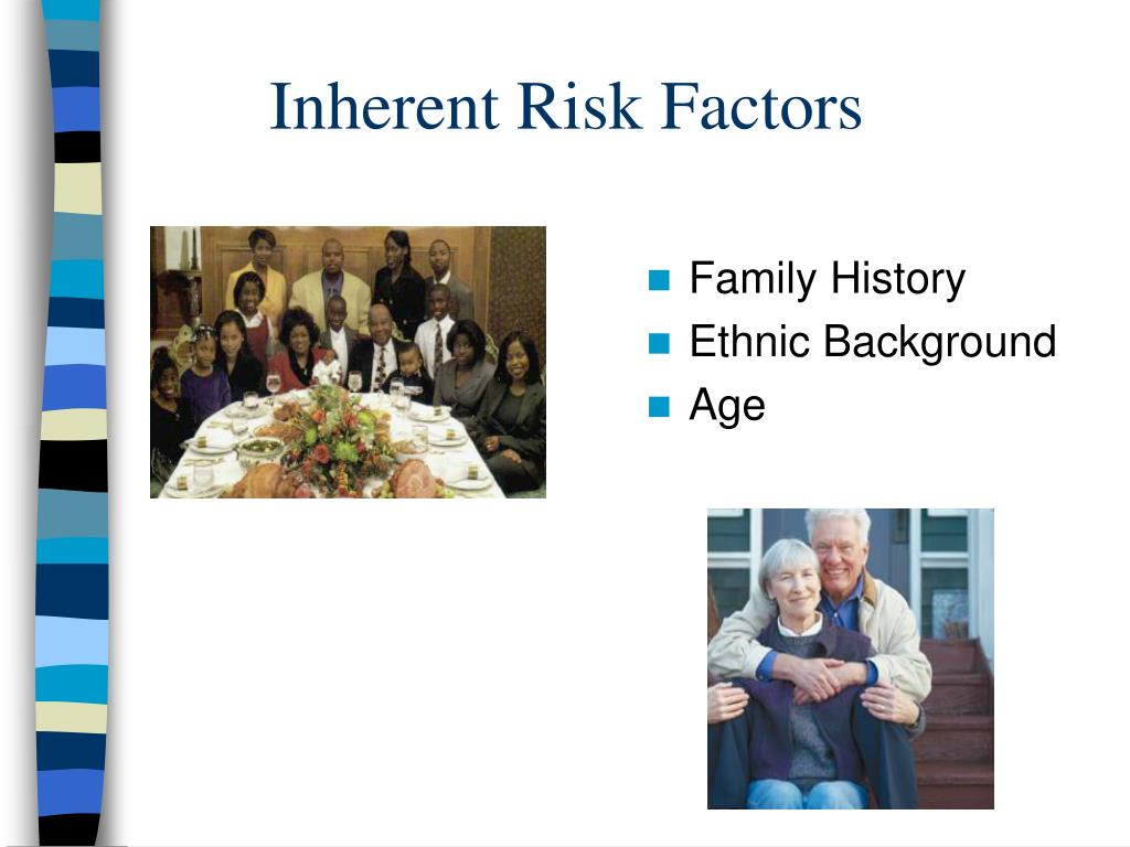 Inherent Risk Factors