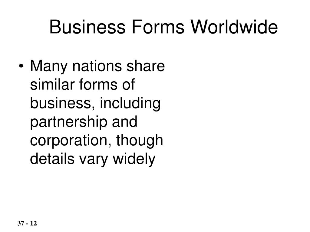 Business Forms Worldwide