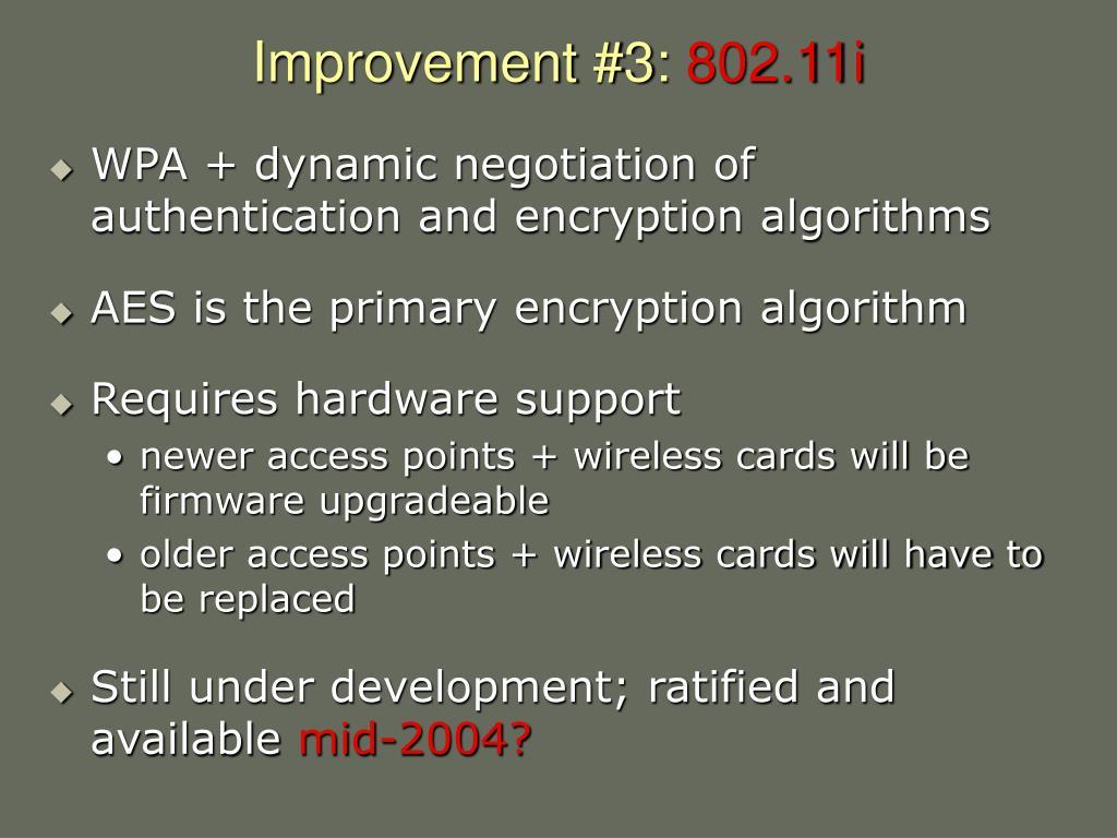 Improvement #3: